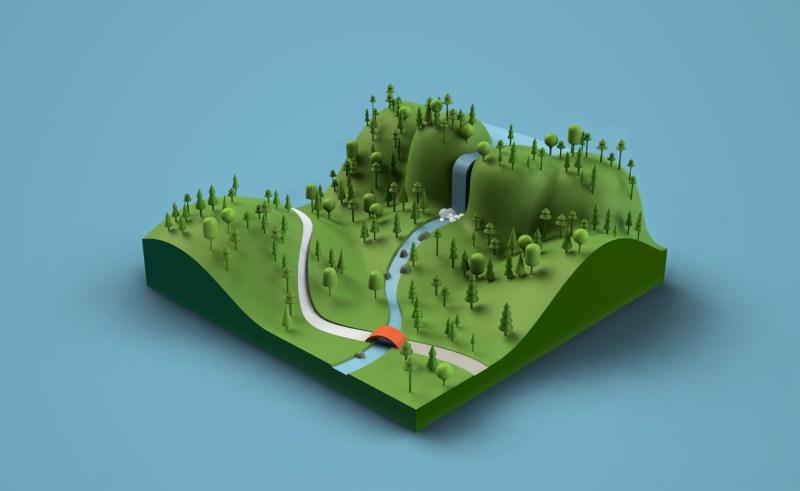 finite landscape